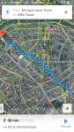 Googlemaps, itineray