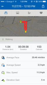 Runtastic GPS-app
