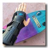 flexible dorsal thermo-plastic splinth