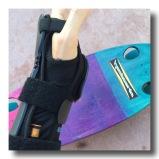 adjustable triple wrap security straps