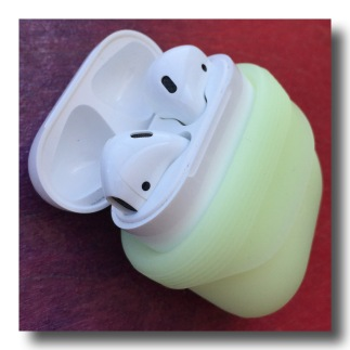 here are my airpods