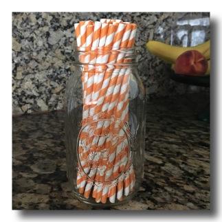 the Jumbo paper straw