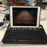 Keyboard at work